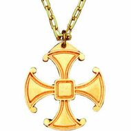Canterbury Cross Pendant