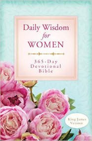 Daily Wisdom for Women: 365-Day Devotional Bible (King James Version)