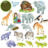 Noah's Ark Fridge Magnet Set