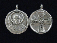 Saints Be With You Handmade Saints Medal - St. John of God: Patron of Nurses, Hospital Workers, Those with Heart Problems