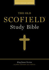The Old Scofield Study Bible: King James Version, Classic Edition (Bonded Leather, Burgundy)