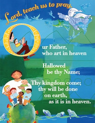 The Lord's Prayer - Laminate Card