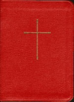 The Book of Common Prayer (BCP) and Hymnal 1982 -  Red Leather