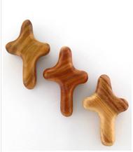 Pocket Cross of Comfort, Polished Plum Wood