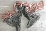 Dream Scarf - Rose/Pink/Silver