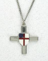 Episcopal Shield Cross