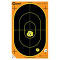 "Caldwell® Orange Peel 7"" Oval - 50 Sheets"