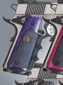 Pachmayr® American Legend Laminate Grip - Colt 1911 - Tropical Purple