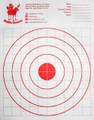 """Battle Beaver™ 10"""" Bullseye Paper Targets 25-PK"""