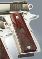 Pachmayr® Custom Laminate Grip Panels for 1911 - Half-Checkered Rosewood