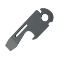 SOG® Bottle Opener + Medium Flathead Screwdriver - BLACK OXIDE