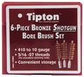 Tipton® 6-Piece Bronze Shotgun Bore Brush Set