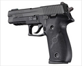 Hogue® SIG Sauer P226 Rubber Panels - BLACK
