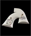 Hogue® XR3 Blackhawk/Vaquero Scrimshaw Ivory Polymer - Aces w/Dice