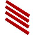 ERGO® M-LOK™ WedgeLok™ Slot Cover Grip 4-PK - RED