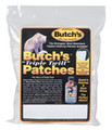 "Butch's™ ""Triple Twill"" Patches 2-1⁄4"" SQ. 38 Cal - 45 Cal Rifle 10mm - 45 Cal Pistol (500-PK)"
