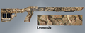 TacStar® Ruger 10-22 Adaptive Tactical Stock - LEGENDS CAMO