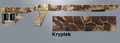 TacStar® Ruger 10-22 Adaptive Tactical Stock - KRYPTEK CAMO
