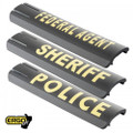 ERGO® 15-Slot Full Cover Rail Covers 2-PK - POLICE (LE Sales Only)