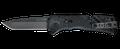 SOG® Trident Hardcased Black TiNi / Tanto / Straight