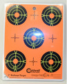"Caldwell® Orange Peel 2"" Bullseye - 10 Sheets"