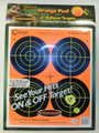 "Caldwell® Orange Peel 4"" Bullseye - 25 Sheets"