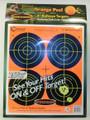 "Caldwell® Orange Peel 4"" Bullseye - 25 Sheets"