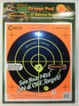"Caldwell® Orange Peel 8"" Bullseye - 10 Sheets"