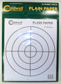 "Caldwell® Plain Paper 8"" Bullseye - 25 Sheets"