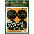"Caldwell® Orange Peel 4"" Bullseye - 10 Sheets"