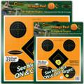 "Caldwell® Orange Peel 8"" Sight-In - 5 Sheets"