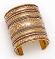 6078-G-3inch  - Brass Cuffs