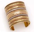 6091-G-3inch  - Brass Cuffs