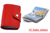 2 x Faux Leather Credit Card Holder