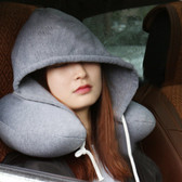 SUPERSOFT HOODIE TRAVEL NECK CUSHION