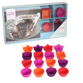 CHOCOLATE Recipe Book & Silicone Moulds Mini Gift Set