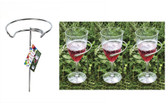 2 or 4 Outdoor Wine Glass Holder