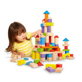 50 Piece Wooden Block Set
