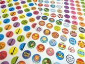 280 Childrens Reward Stickers for Kids Motivation, Merit / Praise School Teacher Labels