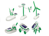 6 in 1 Educational Learning Solar Power Robot Kit Children Toy