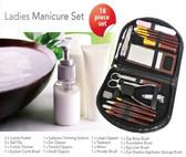 18 pcs Ladies Manicure & Make Up Set