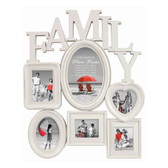 Family Photo Frame Multi-Aperture for 6 Photos