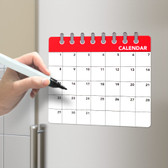 Magnetic Fridge Board Calendar