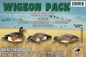 Wigeon Pack Duck Silhouettes