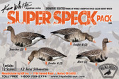 Ken White Super Speck Pack Goose Silhouettes
