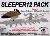 Sleeper 12 Pack Greater Canada Goose Silhouettes
