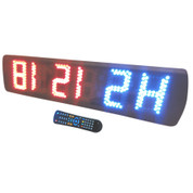 CROSSFIT DIGITAL WALL TIMER CLOCK MMA/TABATA/CROSSFIT/CIRCUITS TRAINING INTERVAL