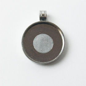 "Magnetic Pendant Tray 1"" Blank 100 pcs."