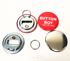 "2.25"" STD Magnetic Bottle Opener Parts With  Ring 2-1/4 Inch-100"