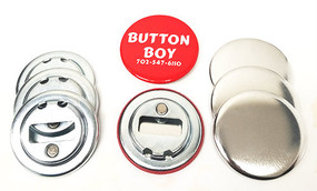 "2.25"" STD Magnetic Bottle Opener Parts No Ring 2-1/4 Inch-250"